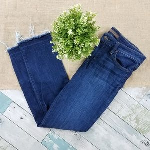 Joe's Jean's Straight Ankle Cropped Jeans Size 28